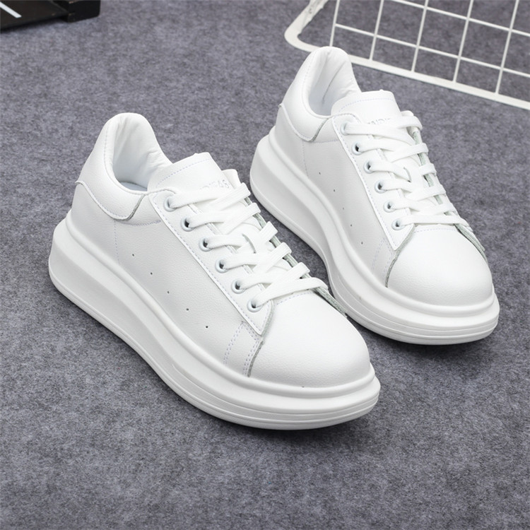 New Fashion Vulcanize Shoes Trainers Women Sneakers Casual Shoes Basket Femme PU Leather Tenis Feminino Zapatos Mujer Plataforma 79