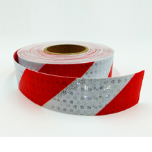 50mm X 5m Reflective Tape Stickers Auto Truck Pickup Safety Reflective Material Film Warning Tape Car Styling Decoration 15cm x 5m high quality reflective orange belt auto super grade reflective sticker 15cm orange reflective warning tape
