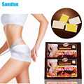 50Pcs Slim Patch Slimming Cream Navel Stick Lose Weight Loss Burning Fat Body Shape Massage Health Care C054