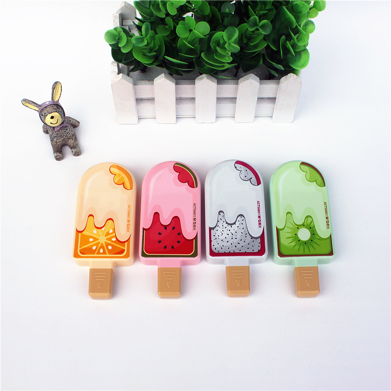 1PC Correction Tape Cute Popsicles Correction Tape Office And School Correct Writing Supplies