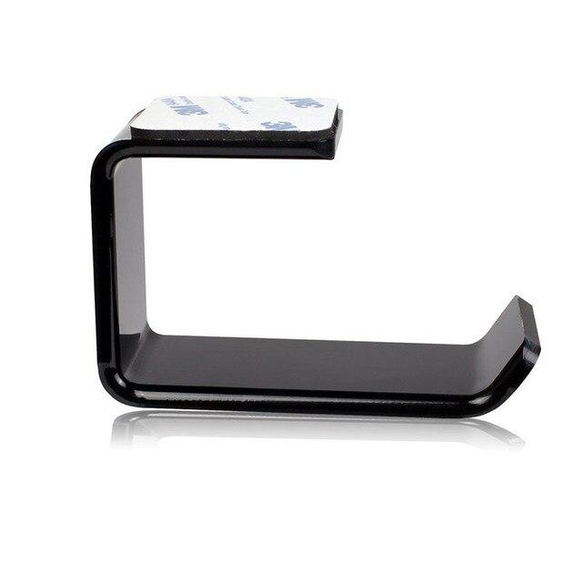 Durable Headphone Holder Headphone Hook Phone / Tablet Stand Wall Mount Headphone Hook Accessories L-Type Headphone Hook