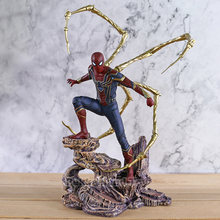 Endgame DST Diamond Select Vingadores Spiderman Ferro Estátua PVC PVC Action Figure Collectible Modelo Toy(China)
