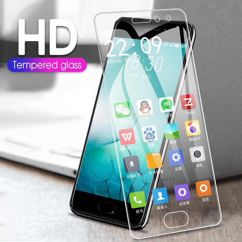 Protective Tempered Glass For Meizu M3 M3S M5 M5S Mini Note U10 U20 Screen Tempered Glass Film For Meizu 16 16X Pro6 Pro7