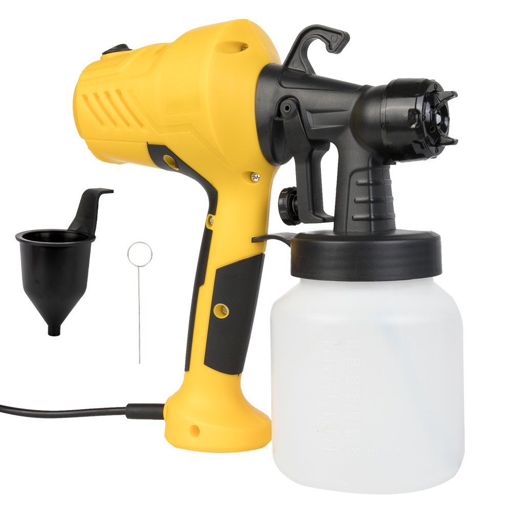 800ML Electric Paint Sprayers Gun In High Power With Plastic Spool Nozzle For Easy Spraying 10