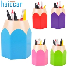 Home Wider Hot Selling High Quality Makeup Brush Vase Pencil Pot Pen Holder Stationery Storage Free Shipping Wholesale
