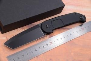 Image 1 - JUFULE OEM Экстремальный коэффициент BF2RCT Флиппер складной N690 лезвие алюминиевый открытый снаряжение Тактический Кемпинг Охота EDC инструмент кухонный нож