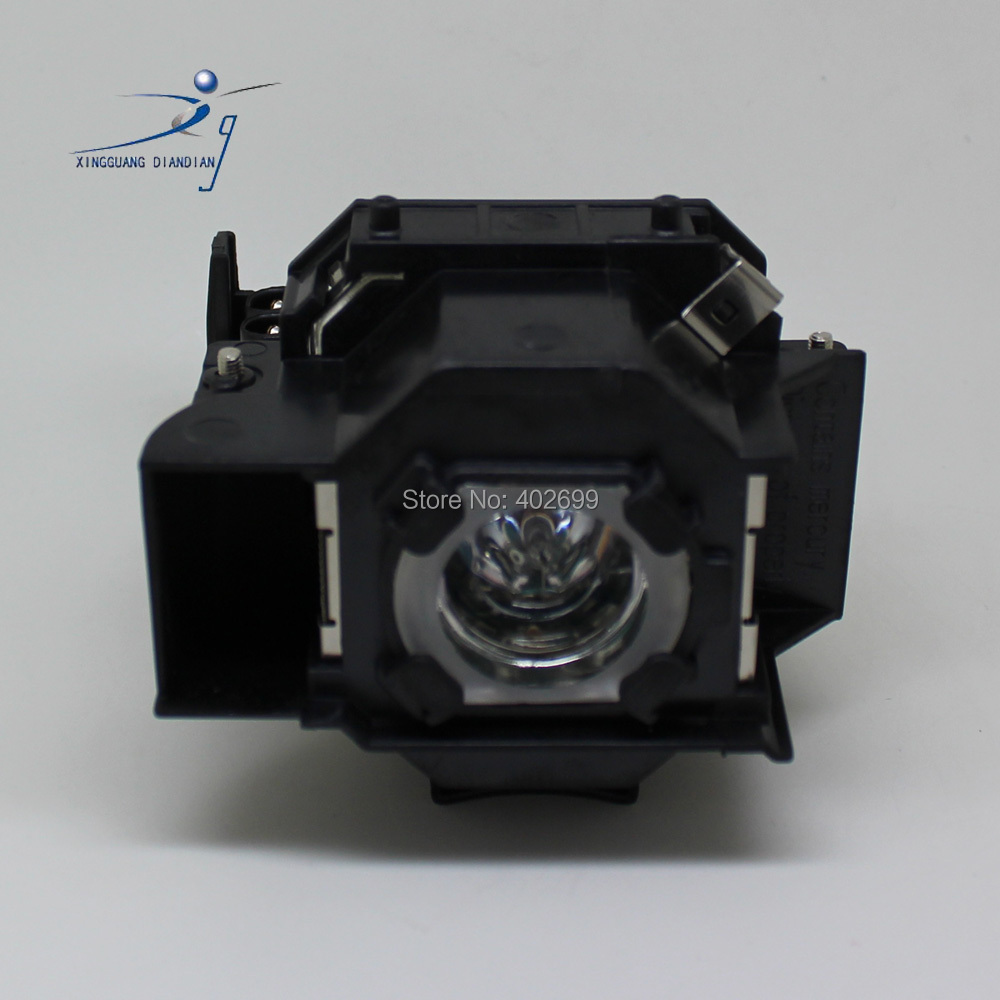 Epson ELPLP34 projector lamp with housing 1