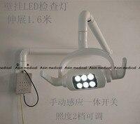 Высокое качество Новое поступление 2017 года зубные светодиодный оральный свет светодиодный индукции лампы для стоматологической кресло с п