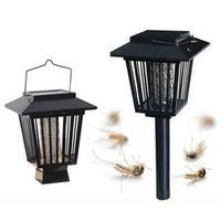 Noverty LEDพลังงานแสงอาทิตย์กลางแจ้งยุงแมลงศัตรูพืชแมลงZapperนักฆ่าสนามหญ้าแส