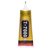 110 мл промышленный жидкий T7000 клей текстильная Бумага кожа T-7000 вещества с проводимостью эпоксидных каучуков клей B7000 ткань Сенсорный экран Б...