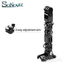 Adjustable Motorcycle Helmet Chin Mount For GoPro Camera Holder Set Portable Strongload