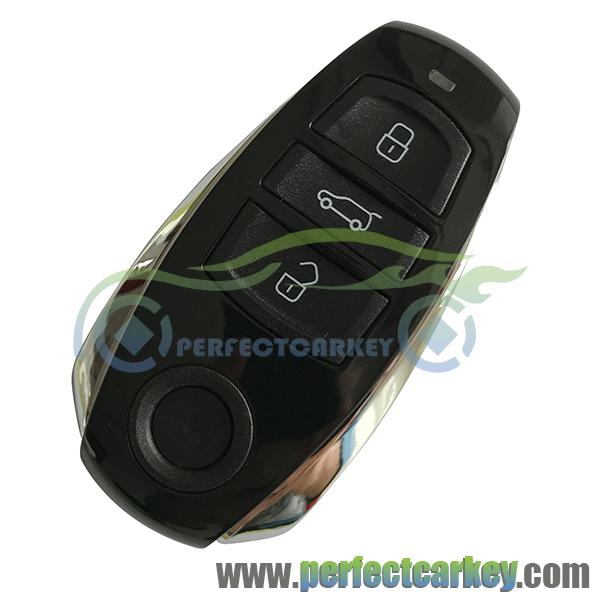 Prix pour 434 Mhz contrôle de clé de voiture Auto carte à puce 3 bouton voiture smart key pour Vw Touareg smart key