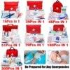 Portable 16-300Pcs Emergency Survival Set First Aid Kit for Medicines Outdoor Camping Hiking Medical Bag Emergency Handbag discount