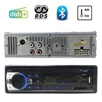 FM AM AUX DAB + Bluetooth/USB/SD слот для карт памяти радио-Кассетный проигрыватель 1 DIN RDS ЖК-дисплей экрана автомобильное аудио MP3 плеер Автомагнитола
