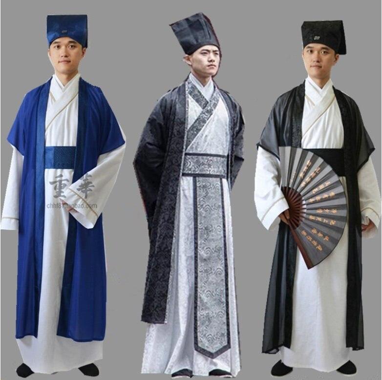 2020 Cosplay Costume Grandmaster Of Demonic Cultivation Men Hanfu Kongzi Cosplay For Halloween