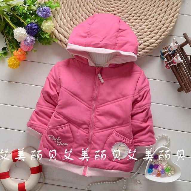 Новый 2015 Зимой Ребенка Верхняя Одежда международные детские мальчики девочки вниз пальто хлопка-ватник Снег износ