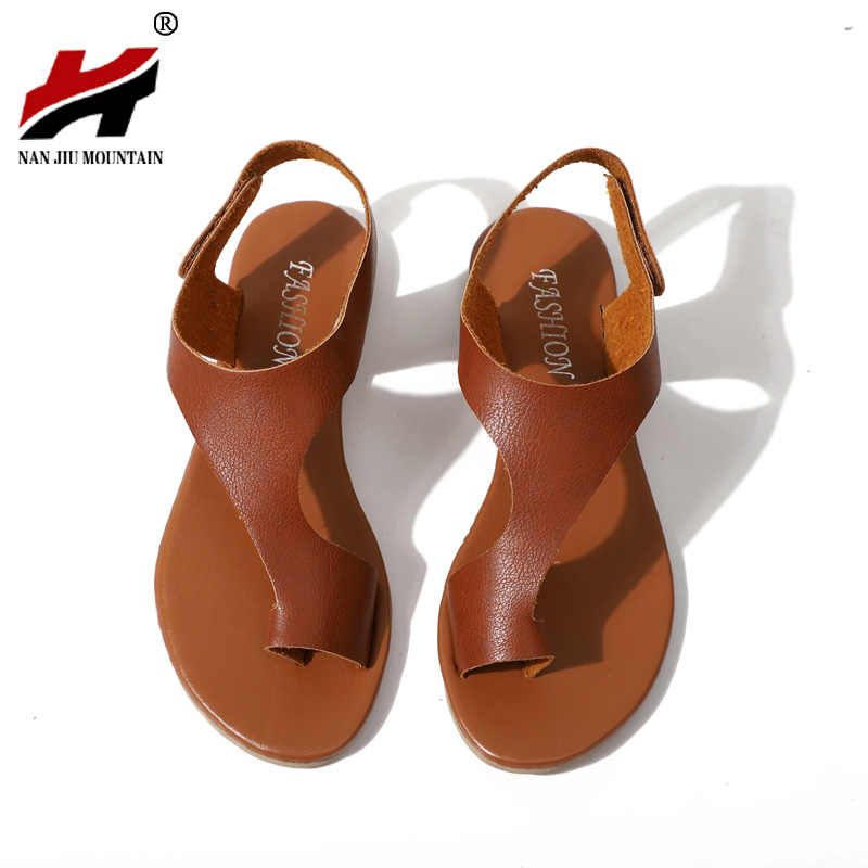 45073b9f8 New Women s Shoes Summer Flats Comfortable Thong Sandals Size 35-43