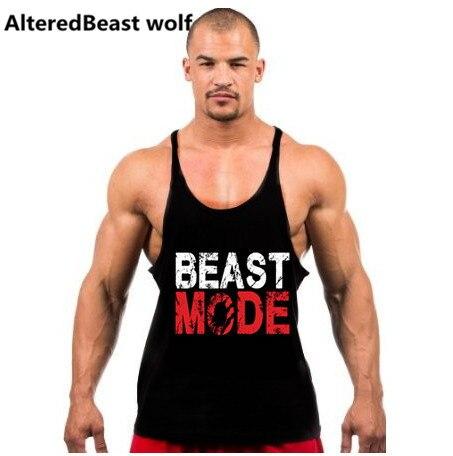 2017 Men tank tops fitness gyms clothing men Sleeveless Shirt O Neck gold gyms Bodybuilding Stringers