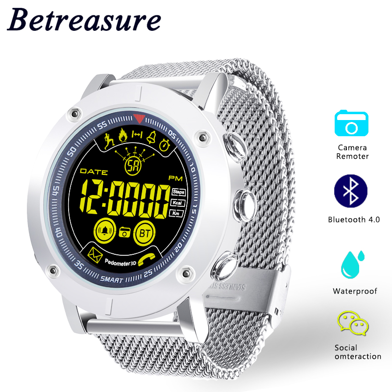 Betreasure EX19 Smart Watch Professional Waterproof 5ATM Swimming Smartwatch Ultra long Standby Fitness Sport Watch For