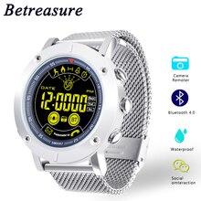 Ограниченное предложение Betreasure EX19 Смарт-часы профессиональный Водонепроницаемый 5ATM плавание Smartwatch сверхдальние ожидания Фитнес спортивные часы для Android