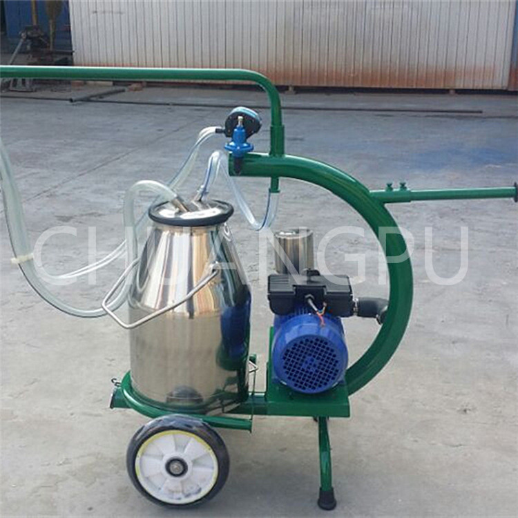 portative milker machine for milking cow