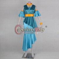Cosplaydiy The Legend of Zelda Game Nayru Cosplay Costume Adult Halloween Cosplay Dress Custom Made D0723