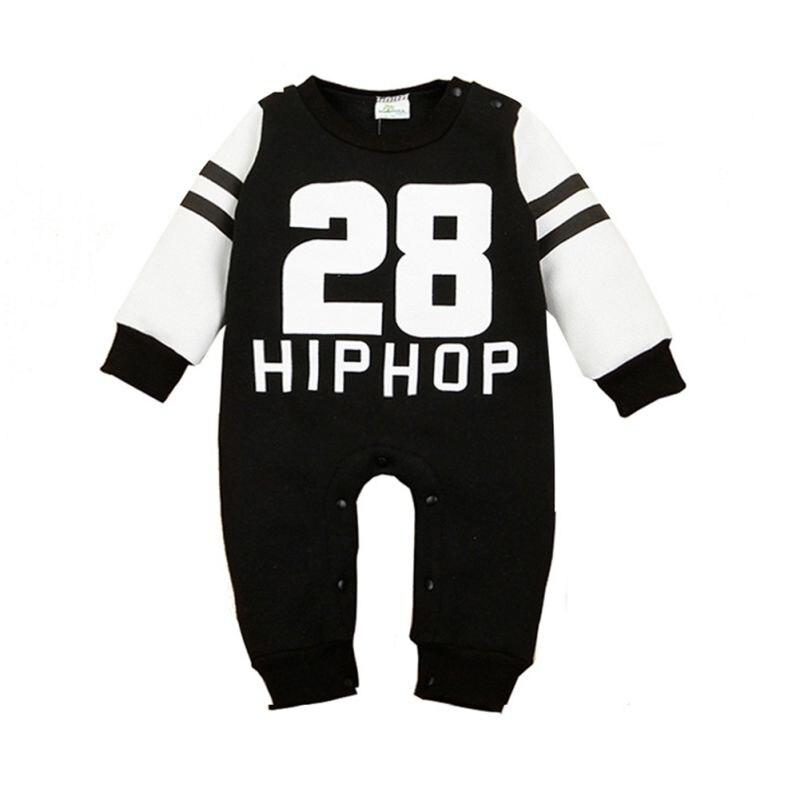 Kids Baby Boy Warm Infant Romper Jumpsuit Bodysuit Cotton Clothes Outfit 0-24M