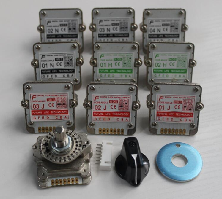 Rotary switches band switch FUTURE Digital band switch NDS series 01H 01J 01N 01S 02H 02J 02N 02S 03H 03J 03N 03S