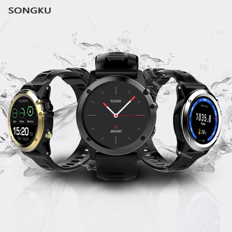 Smart watch H1 Waterproof Smart Sport Watch Bluetooth Smartwatch with Camera Support GPS/ WIFI Heart Rate monitor Pedometer skinny men jeans 2017 brand new blue ripped jeans men casual slim fit mens pencil pants biker motocycle jeans homme denim pants