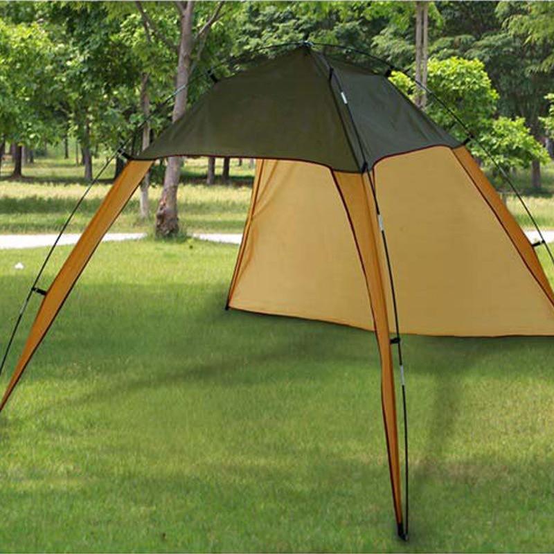 Tente extérieure tente légère coupe-vent mur Camping, grand auvent Camping pique-nique plage auvent