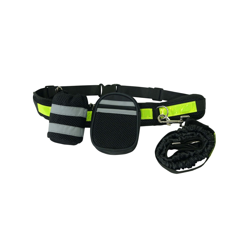 Pet Products For Large Dog Handsfree Leash Leads Dog-Collars Adjustable Dog Harness Leash Running Jogging For Dogs Supplies 3