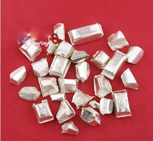 S999  Silver Chipper Pure Silver Bars 925 Sterling Silver Scrap  Raw Silver Material