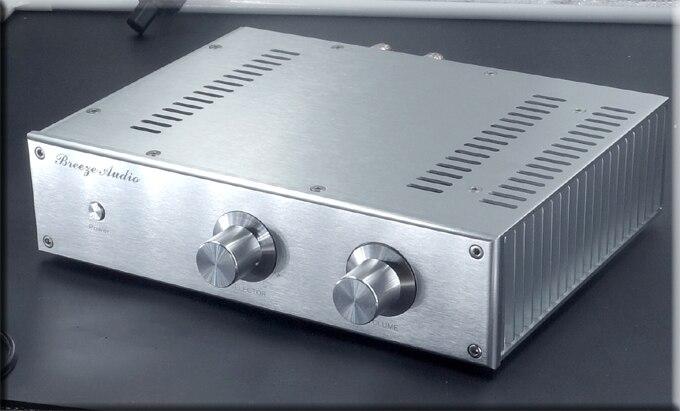 BZ3008 boîtier en aluminium complet/boîtier de préampli/boîte d'amplificateur de puissance/châssis d'amplificateur largeur 300mm hauteur 80mm profondeur 211mm