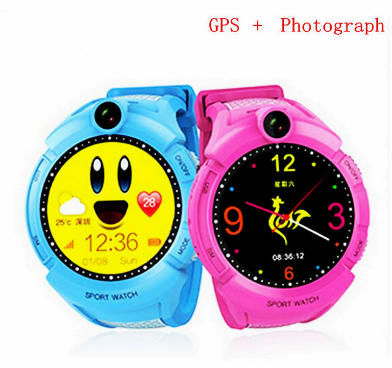 A7 GPS Phone Positioning Fashion Children Watch 1.22 Inch Color Touch Screen Smart Watch Camera flashlight SOS Call Anti-lost wireless service call bell system popular in restaurant ce passed 433 92mhz full equipment watch pager 1 watch 7 call button