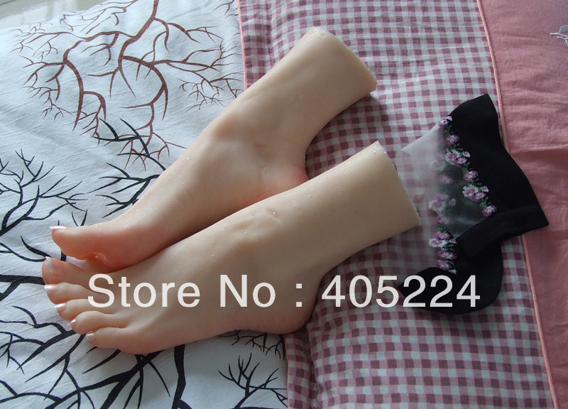 Female Realistic Lifelike Foot Mannequin Foot Fetishism Foot Worship Props Shoe Stretcher Display Stand Nail Art Manicure Tool In Mannequins From Home