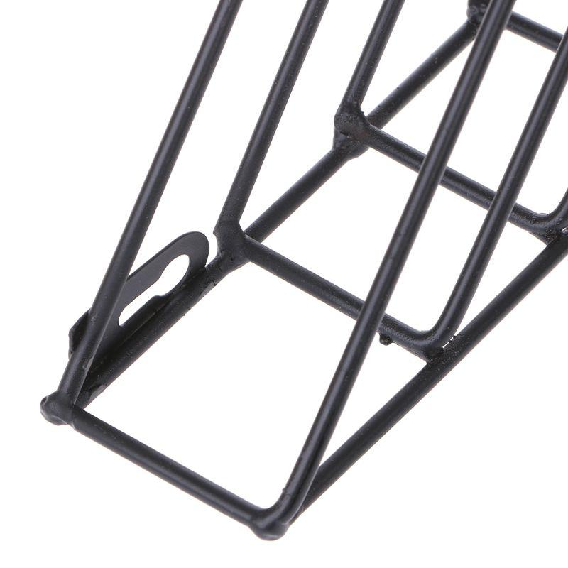 Скандинавский геометрический держатель для журналов, железный стеллаж для хранения журналов, настенная корзина, Домашний Органайзер, Декор, органайзер для журналов