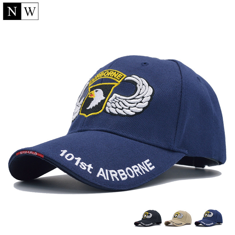 ARMY OD GREEN MILITAIRE Casquette de baseball 101st Airborne Insignia Hat-U.S