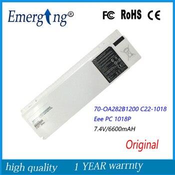 7,4 V 6600Mah Original nuevo batería de portátil para Asus C22-1018 70-OA282B1200 Eee PC 1018