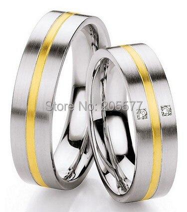 High End класса люкс обычай Западной Обручальные Кольца Юбилей кольца обещание наборы для его и ее пары