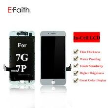 20 шт. в партии EFaith INCELL Tech ЖК-дисплей для iPhone 7 7G 7 Plus или 7 P с реальным 3D сенсорным дигитайзером в сборе Замена
