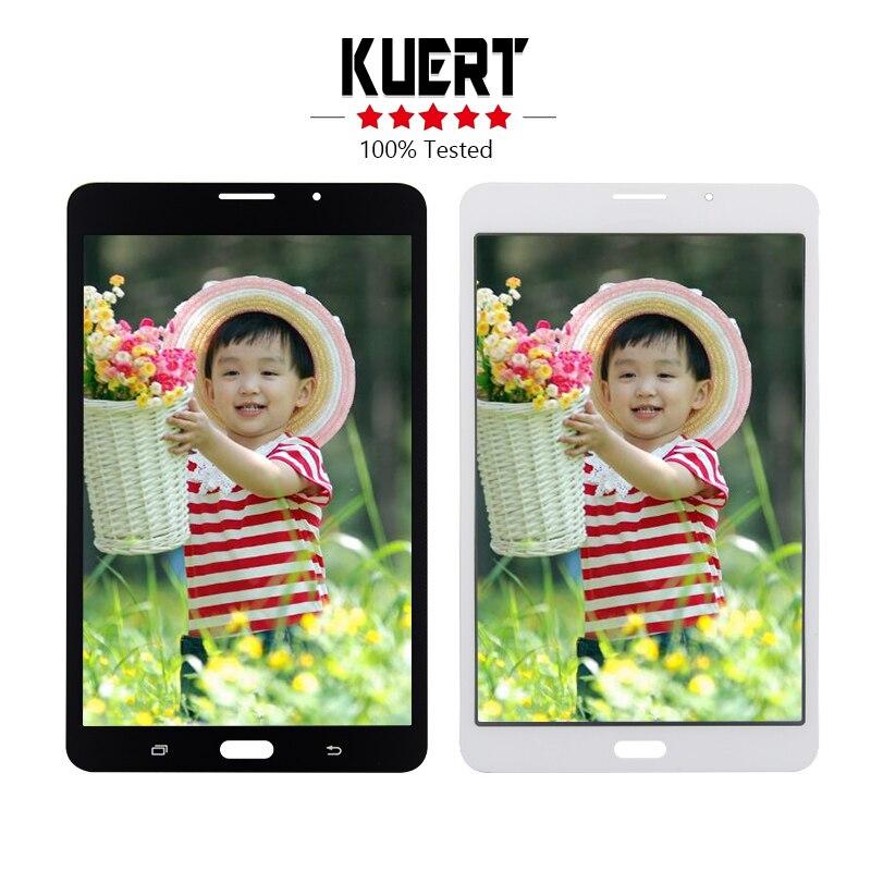 Livraison Gratuite Pour Samsung Galaxy Tab UN 7.0 (2016) SM-T285 T285 Tactile Digitizer Lcd Assemblée d'affichage de L'écran de Remplacement