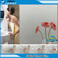 Estática Película de La Ventana 3ftx16. 5ft Precio Al Por Mayor de Papel Decorativo de Vinilo Esmerilado Vidrieras BZ121-001