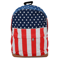 5 X SNNY NEWBRAND Womens Mens School Book Campus Bag Backpack Satchel UK US Flag Pattern
