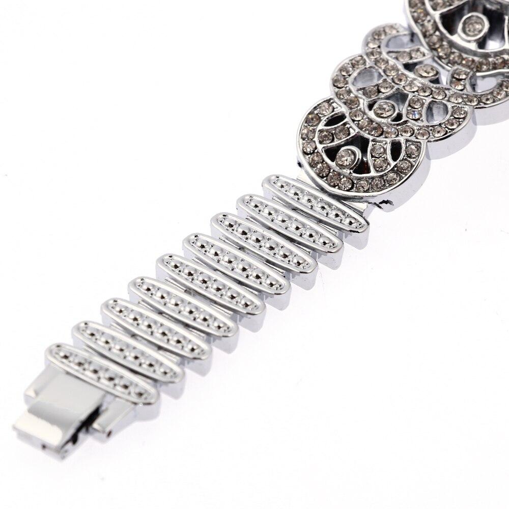 G & D Kvinnor Silver Stainless Steel Band Fashion Watch Kvinnors - Damklockor - Foto 5