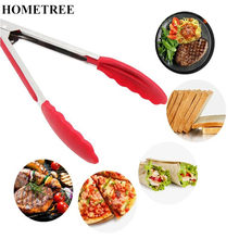 HOMETREE Anti-hot Silicone Pasta Clip Clamp Pasta Tong Kitchen Cooking BBQ Tool Buffet Party Catering Utensils Kitchen Tool H390(China)