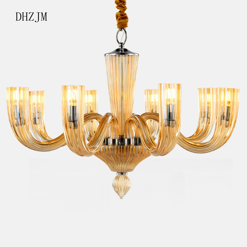 Italy chandelier Lighting Luxury crystal lights fixtares ...