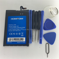 100 Original Battery HOMTOM HT50 Battery 5500mAh Original Quality Mobile Phone Battery Disassemble Tool Original Quality