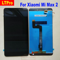 6.44 TOP Quality LCD Screen Display Touch Digitizer Assembly Sensor for Xiaomi Mi Max2 Max 2 Phone PARTS