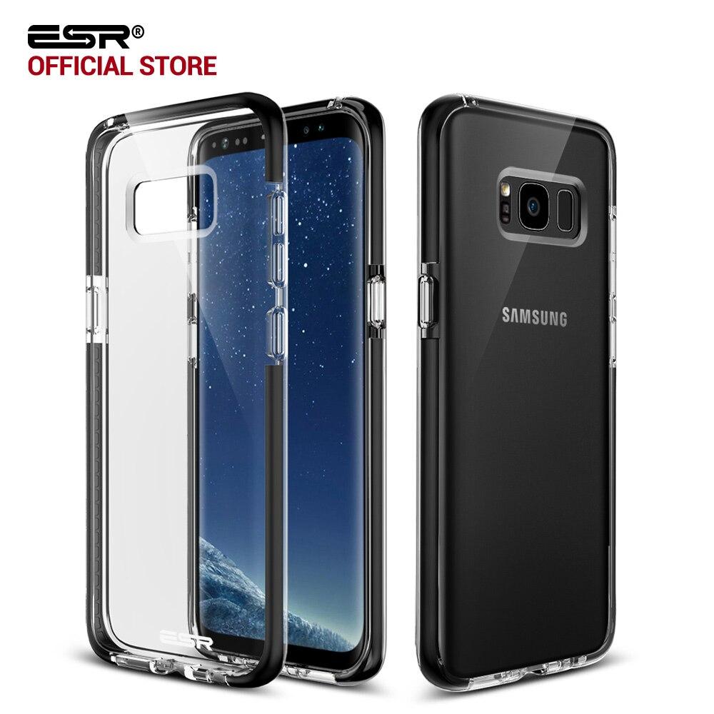 imágenes para Para el caso de Samsung Galaxy S8/S8 Más, ESR Ultra Colchón de Aire Cristalino Claro Tpu Caso de Parachoques Híbrido para Samsung Galaxy S8 Más