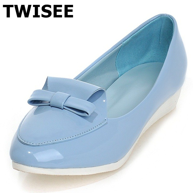 Pointed Toe chaussure femme women flat shoes Slip-On fashion Beautiful summer flats Butterfly-knot pu leather Comfortable weweya 2017 summer candy colors ladies flats fashion pointed toe shoes woman new flat shoes women plus size chaussure femme